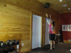 wall ball video still